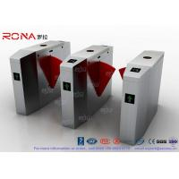 Buy cheap Cold Rolled Steel Luxury Flap Barrier Gate , Pedestrian Access Control Turnstile product
