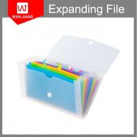 Buy cheap Popular design wholesale Office stationery portfolios pp foam expanding file folder from wholesalers