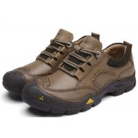 Mark Thread Stitching Comfortable Casual Shoes For Hiking Anti Kick Toe
