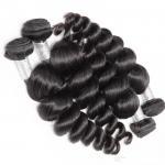 Buy cheap Unprocessed Brazilian Virgin Hair 10-30 Loose Wave Bundle Human Hair Extensions Top Selling African American Hairstyles from wholesalers