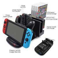 Buy cheap High Quality Multi-function Charging Stand Charger Dock for Nintendo Switch Console Joy-Cons and Pro controller from wholesalers