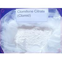 Buy cheap Anti Estrogen Clomid Steroids Clomifene Citrate Powder CAS 50-41-9 for Gynecologic Diseases 99% from wholesalers