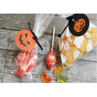 Buy cheap DIY Halloween Festival Decoration Accessories Pumpkin Packaging Decorative Label from Wholesalers