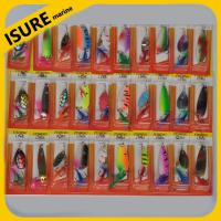 Buy cheap New Fishing Lures Spinner Baits Crankbait Assorted Fish Tackle Hooks from wholesalers