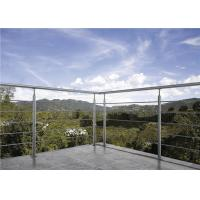 Buy cheap Durable Stainless Steel Solid Rod Bar Balcony Stairs Deck Railing Balustrade from wholesalers