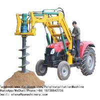 Buy cheap Farm Ground Mini Excavator Post Hole Auger / Water Use Tractor Mounted Digger from wholesalers
