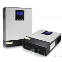 Buy cheap Grid Hybrid 5kva Solar Inverter Pure Sine Wave , Parallel Multi - Functional Hybrid Pv Inverter from wholesalers