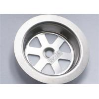 Buy cheap Stainless Steel 304 Sink Strainer Parts Narrow Width Durable 15g For Kitchen from wholesalers