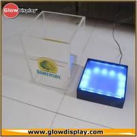 Buy cheap Square Led Bar Ice Bucket Stackable / Outdoor Colorful Beer Ice Buckets from wholesalers