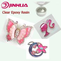 Buy cheap Two Parts Transparent Crystal Clear Hard Epoxy Resin for Decorations from wholesalers