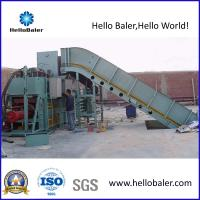 Buy cheap hydraulic cardboard press machine with conveyor(HSA7-10) from wholesalers