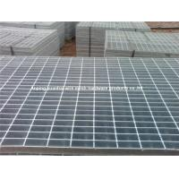 Buy cheap Non Sagging Steel Grating Panels Square / Rectangular Shape For Industrial Floors from wholesalers