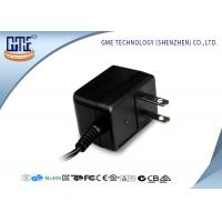 Buy cheap Black CE/GS EU Plug 3-10w Ac Dc Switching Power Supply With 1.5m DC Cable product