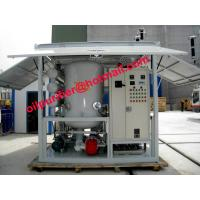 Buy cheap high vacuum oil filtration ,Transformer Oil Recycling System,Acid removal,insulating Oil moisture processing equipment from wholesalers