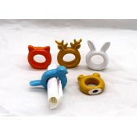 Buy cheap Adorable Ceramic Napkin Holder Animal Design Napkin Ring Dolomite Colors Available from wholesalers