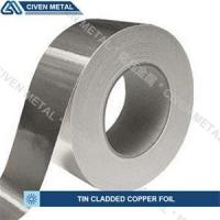 Buy cheap Single / Double Side Tin Plated Copper Foil with corrosion protection from wholesalers