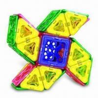 Buy cheap Construction Toy with Magnetic Sticks and Bars, Suitable for 3 Years Old Kids product