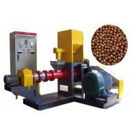 Buy cheap Single Straw Feed Pellet Machine , Floating Fish Feed Extruder Machine from wholesalers