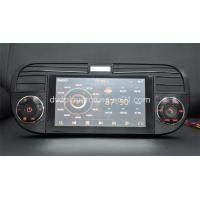 Buy cheap Fiat 500 Car DVD with GPS 3D, V-CDC,Bluetooth Phone Book SWC from wholesalers