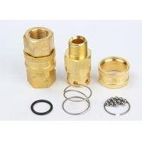 Buy cheap Valveless Structure High Flow Coupler Brass / SS304 LSQ-RD Interchange With NITTO TSP from wholesalers