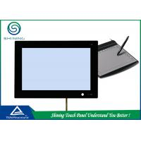 Black Frame 7 Inch 4 Wire Resistive Touch Screen Panel For Office Device