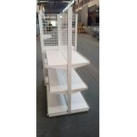 Buy cheap Double Side Punched Back Board Supermarket Shelf Rack , Grocery Store Shelves from wholesalers