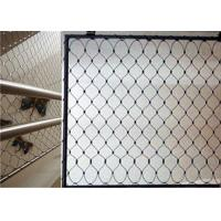 Buy cheap High Strength Balcony Safety Net , Stainless Steel X Tend Mesh For Handrail from wholesalers