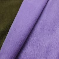 Buy cheap 100 polyester super soft FDY velboa knitted minky toy plush fabric 0.5mm-5mm Velboa Dty/fdy from wholesalers