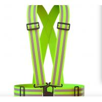 Buy cheap Acid Proof Reflective Safety Vest , Personalized Safety Vest For Running / Cycling from wholesalers