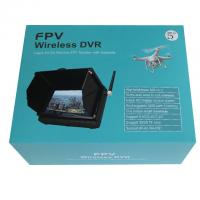Buy cheap 5.8GHz 32CHS 5inch Wireless Mini Monitor DVR With Sun Shield from wholesalers