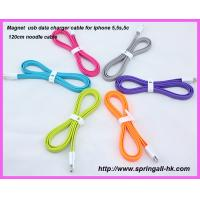 Buy cheap Magnet usb data sync cable for iphone5, iphone5 usb cable, iphone5 usb data cable product