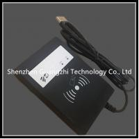 Buy cheap Black Rfid Card Reader 13.56mhz Long Range , Contactless Card Reader With Buzzer from wholesalers
