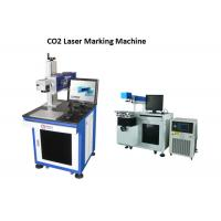 Buy cheap Printing Bar Code CO2 Laser Engraving Machine With High Accuracy / Speed , Laser Printer from wholesalers