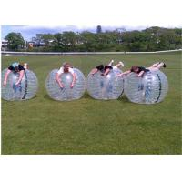 Buy cheap 1.8m TPU Full Body Bubble Ball , Dia 180cm Clear Human Soccer Ball Bubble from wholesalers
