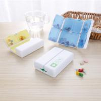 Buy cheap 7 day Pill Box Plastic container Folding  Vitamin Pill Box pill organiser/ dispenser from wholesalers