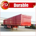 Buy cheap Shandong Fudeng Coal transporting dry van type box truck Enclosed cargo semi trailer from wholesalers