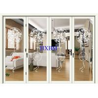 Buy cheap Double Glazed Aluminum Folding Doors Impact Resistant For Apartments from wholesalers