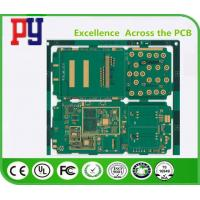 Buy cheap 1.6MM Thickness Multilayer Pcb Fabrication , Printed Circuit Board Fabrication from wholesalers