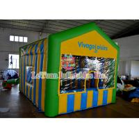Buy cheap Water Proof Outdoor Inflatable Tent , Portable Ice cream Advertising Stall from wholesalers