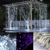 Buy cheap Christmas led waterfull curtain lights from wholesalers