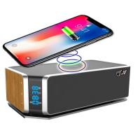 Buy cheap UT11#Stereo Bluetooth 4.0 Wireless Speakers 10W Handfree for Phone Calls Qi Wireless Charger Portable SPEAKER from wholesalers