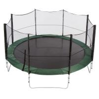 Quality 12ft commercial outdoor bungee jumping trampoline with Heavy-gauge steel framework for sale