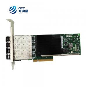 China F1004E Intel XL710 4-port SFP+ Fibre Optic NIC SFP 10g Network Card on sale