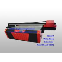 Buy cheap Industrial Flatbed UV Printer With Ricoh GEN5 High Speed Print Head from wholesalers