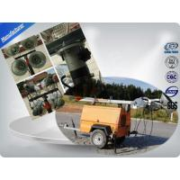 Buy cheap Single Cylinder Diesel Trailer Mobile Light Tower Rental With Air - Cooled from wholesalers