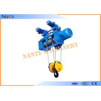 Buy cheap Construction Metallurgy Electric Wire Rope Hoist Low Noise Suitable For Plant from wholesalers