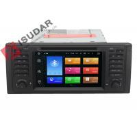 Buy cheap Octa Core Android 6.0 BMW DVD GPS Navigation BMW 5 Series Head Unit 2G RAM 32G from wholesalers