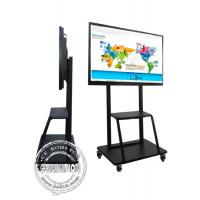 Buy cheap 85 Inch 4k Big Education School Digital Tv Conference Room Interactive Flat Board For Video Meeting from wholesalers