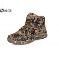 Buy cheap Rubber Military Tactical Shoes , Military Desert Boots US Woodland Air Mesh Fabric product