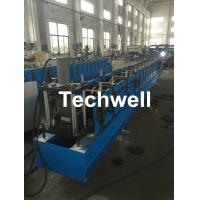 Buy cheap Galvanized Steel Metal Rack Box Beam Roll Forming Machine With High Speed 12-15m/min For Rack Box Beam from wholesalers